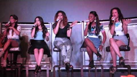 They Don't Know About Us (1D Cover) - Fifth Harmony Harmonize America LA 8 16 13