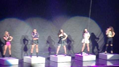 "Fifth Harmony ""Miss Moving On"" in Vancouver at the Neon Lights Tour (February, 9, 2014)"