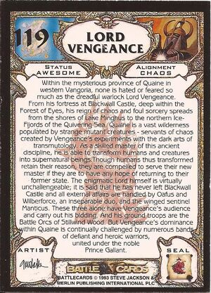 119 Lord Vengeance US back