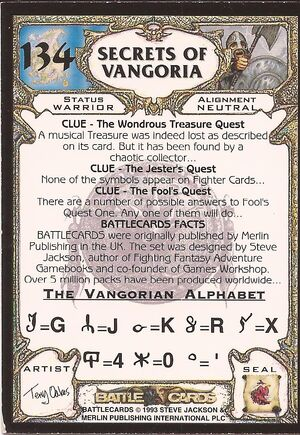 134 Secrets of Vangoria US back