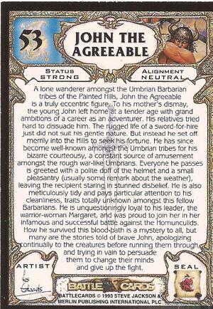 53 John the Agreeable US back