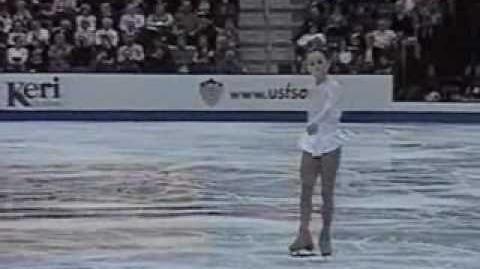 Sasha Cohen - 2000 Nationals Short Program