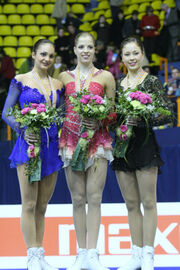 2008 EC Ladies Podium