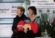 Grand Prix Final 2008 Johnny Weir and Galina Zmievskaya