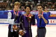 2007 NHK Trophy Men's Podium