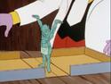 Sleeping Goblin statue