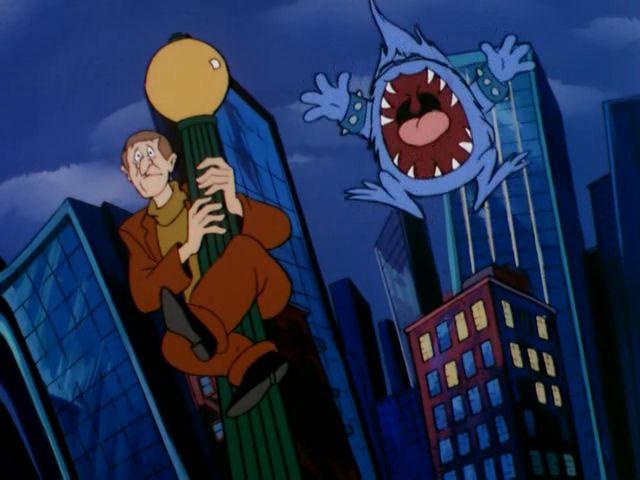 File:Big Tooth scares pedestrian.jpg