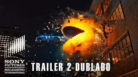 Pixels Trailer 2 Dublado 23 de julho nos cinemas