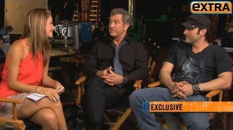 Exclusive! Mel Gibson Talks 'Machete Kills' 'Bad Guys are Always More Fun'