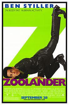 Movie poster zoolander