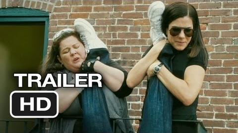 The Heat Official Trailer 1 (2013) - Sandra Bullock Movie HD