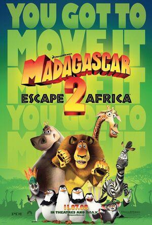 Madagascar two xlg
