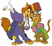 Foulfellow and Gideon