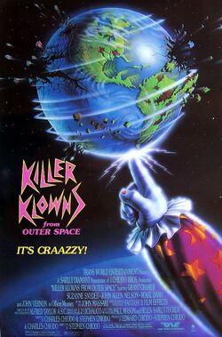 Killer klowns poster