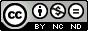CC-Attribution-Noncommercial-NoDerivs