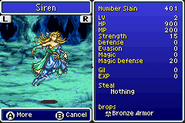 Siren stats