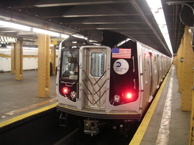 New nyc subway train