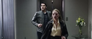 Molly and Sam rushing to help Olivia