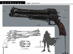 Cerberus Gun Artwork