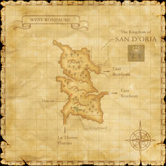 The map of West Ronfaure.