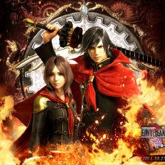 Promotional poster alongside Rem.