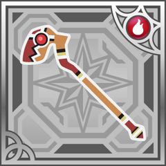 Flame Staff (R+).