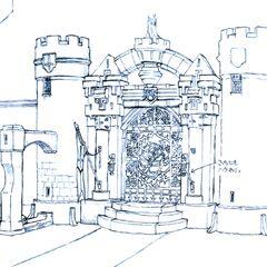 Alexandria Castle East Gate.