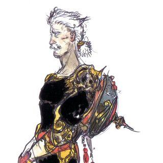 Galuf artwork by Yoshitaka Amano.