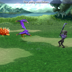 <i>Final Fantasy IV</i> (iOS, when Stoned).