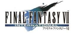 FFVII International Logo