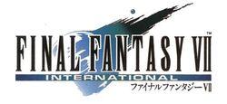 Logo của bản International.