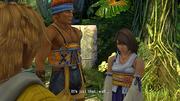 Yuna wants Tidus
