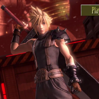 Cloud in the PlayStation 4 version.