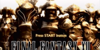 Final Fantasy XII Playable Demo Version
