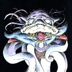 Artwork of Kraken for <i>Nintendo Power</i>.