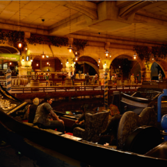 A bar on the water level.