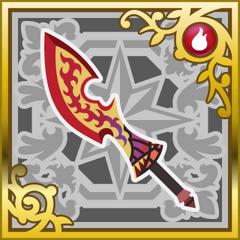 Flametongue in <i>Final Fantasy Airborne Brigade</i> (SR+).