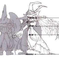 Concept artwork of Black Waltz 2.