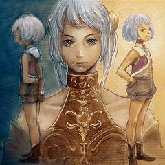 Artwork of a young Arciela.