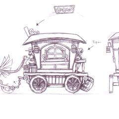 Chocobo cart.