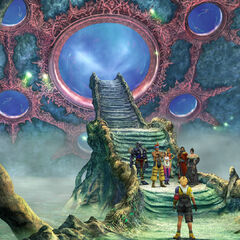 Entrance to Farplane in <i>Final Fantasy X</i>.