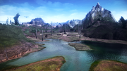 FFXIII-2 Archylte Steppe Lake