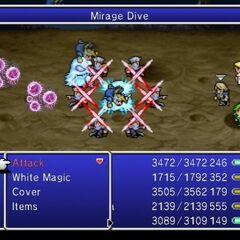 Mirage Dive.
