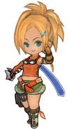 FFXIV Rikku Minion