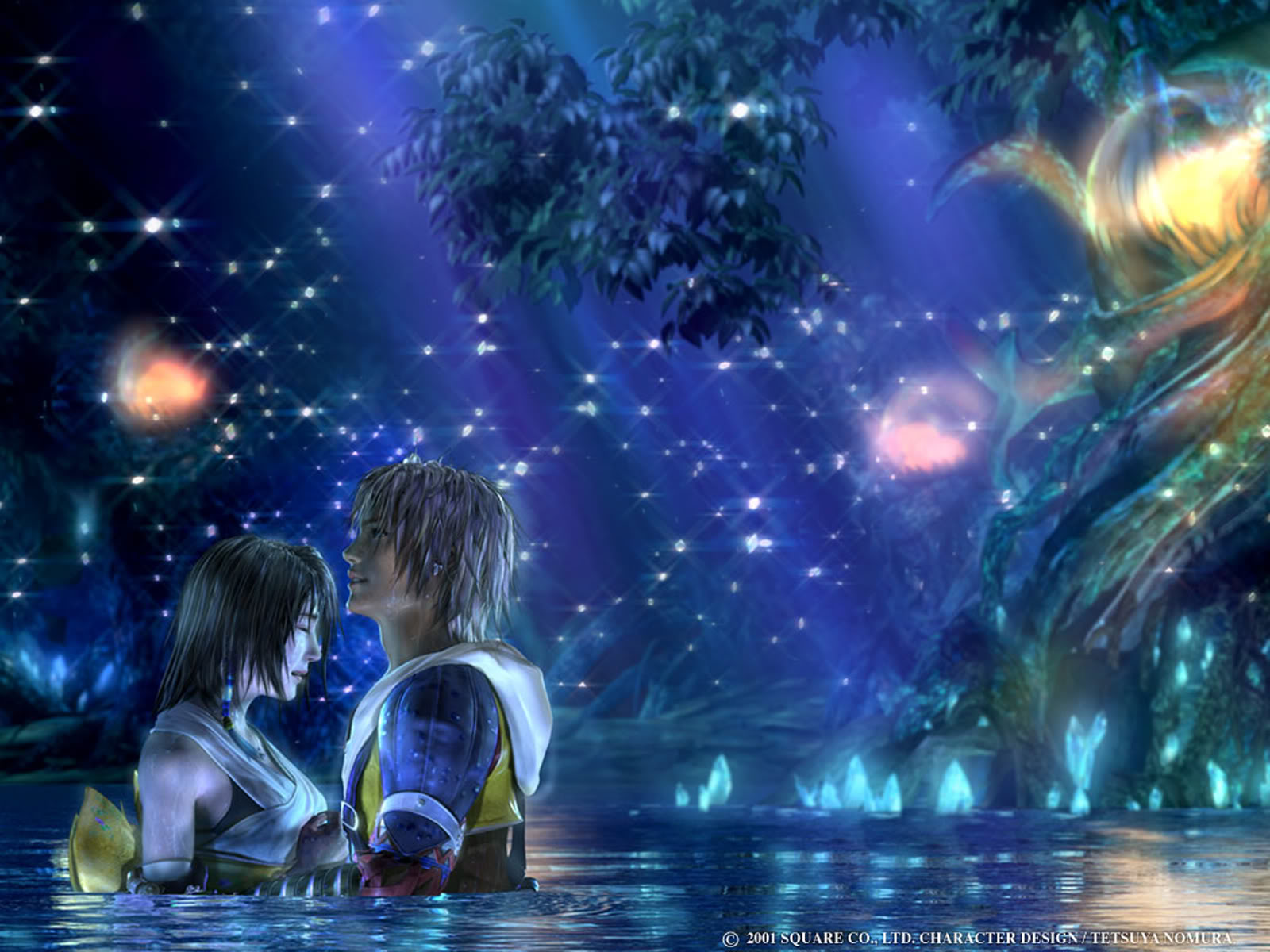 Image result for final fantasy tidus and yuna