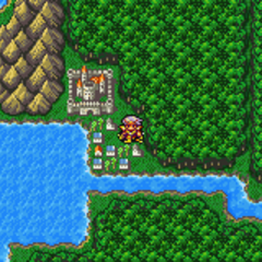 Troia on the World Map (GBA).