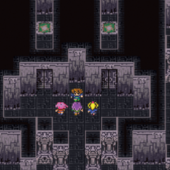 The Japanese dungeon image for <i>White Fork Tower</i> in <i>Final Fantasy Record Keeper</i>.