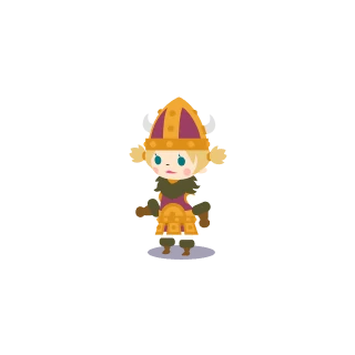 Female Viking.