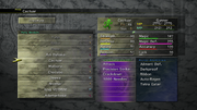 FFX-2 HD Creature Menu