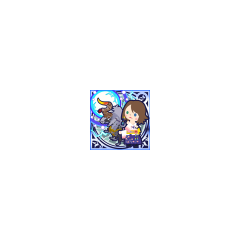 Grand Summon (Thor's Hammer) in <i>Final Fantasy Airborne Brigade</i> (SSR+ Legend).